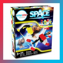 Interstar Space Theme - Construction Toy-Age 3+