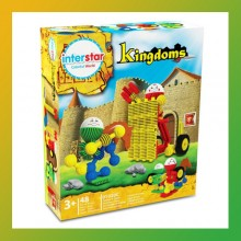 Interstar KINGDOMS Theme - Construction Toy-Age 3+ 48 Pcs