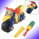 3 in 1 Plastic Motorcycle-Disassembly Toy