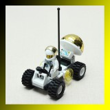 Brick Space Observation Vehicle Car Blocks Educational Toy