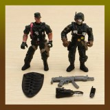 2PCS Special Forces Soldier Toy