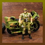 Motocross Soldier Set Movable Joints