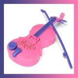 Kids Violin + Bow Electronic Musical String Instrument