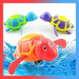 Large Cartoon Swimming Chain Turtle