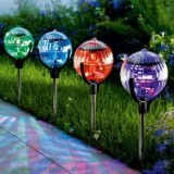 Solar Outdoor LED Garden Lawn Ball-Floating Lamp