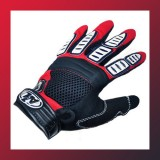 Bike Full Finger Gloves RED