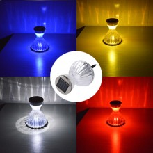 Solar Powered Color Changing LED Lawn Light
