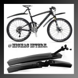 Bicycle Front + Rear Mudguards