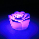 7 Colors Changing Rose Flower LED Light