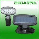Solar Power Motion Activated 15 LED Security Spot Light