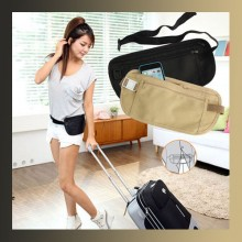 Zipped Sport Travel Waist Belt Bag Money Passport Security Pouch