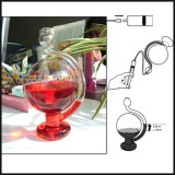 Weather Forecast Barometer Transparent Bottle